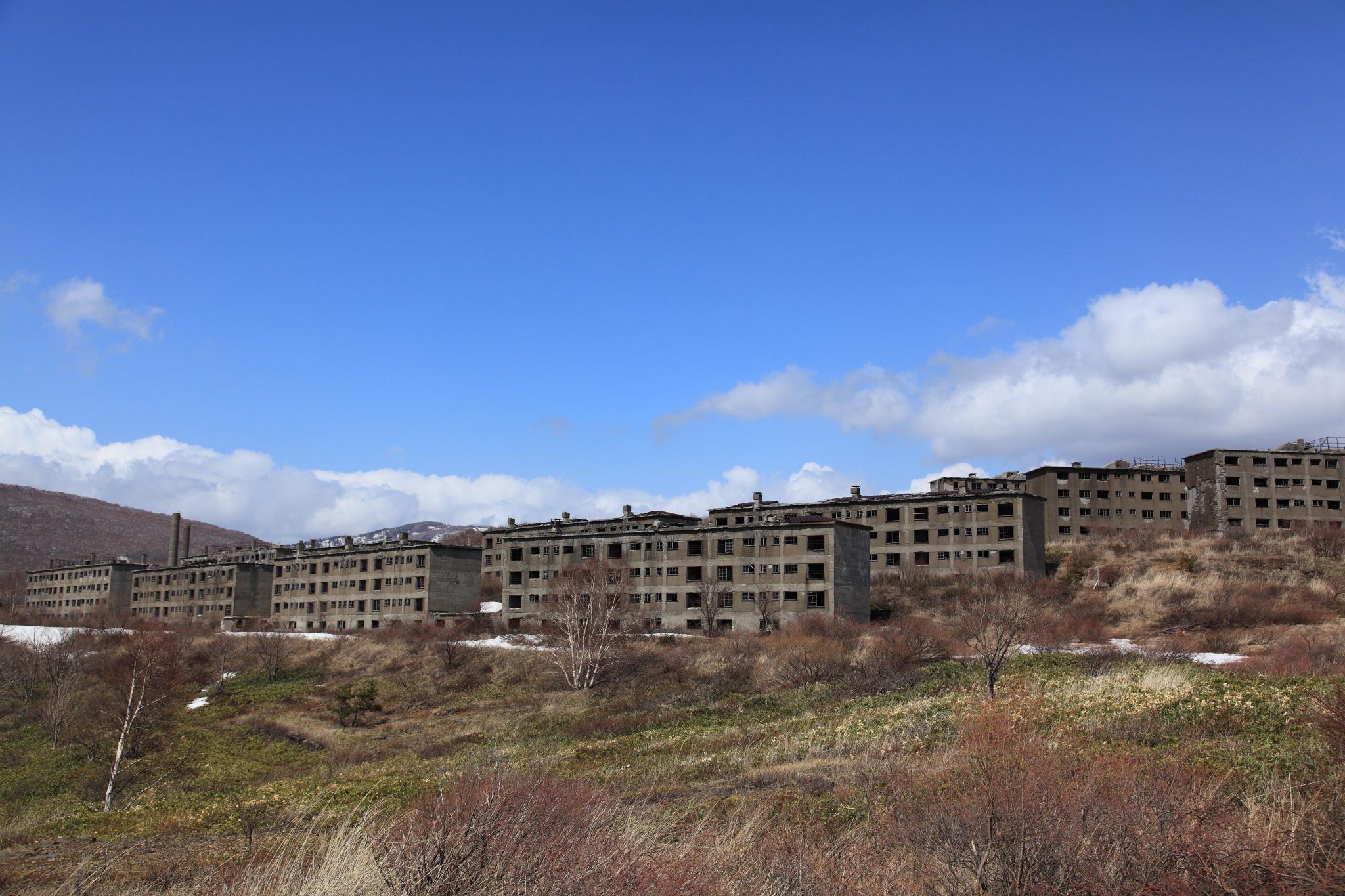 松尾鉱山緑ヶ丘アパート跡