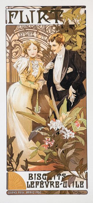 アルフォンス・ミュシャ 「浮気女」 (1899)