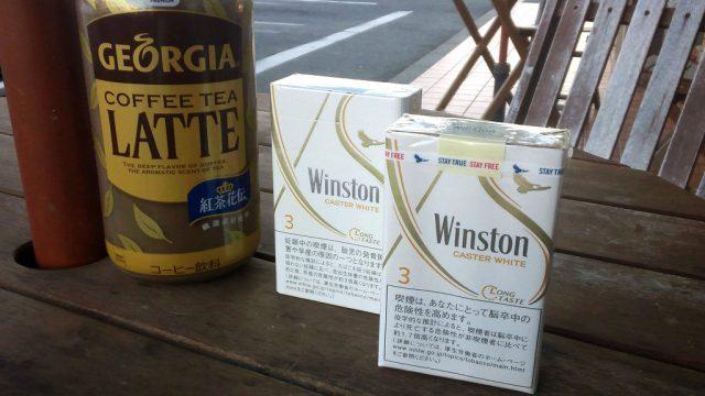 ウィンストン・キャスター ホワイト(3mg):ボックス&ソフトパック