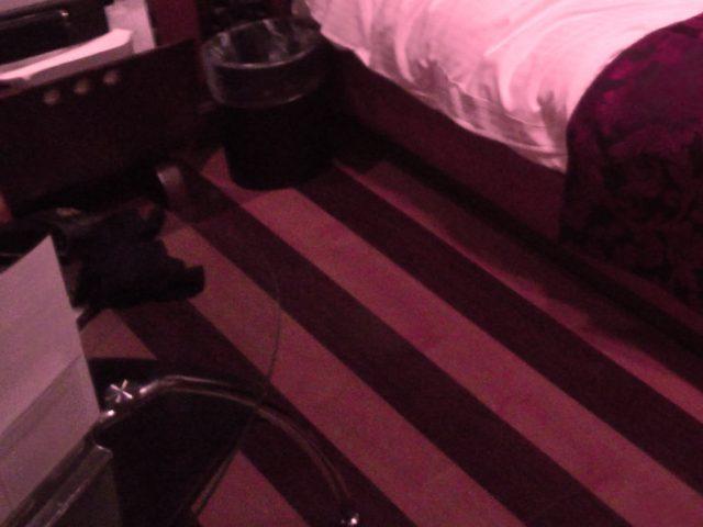 ラブホテルの室内:ちょっとアップ