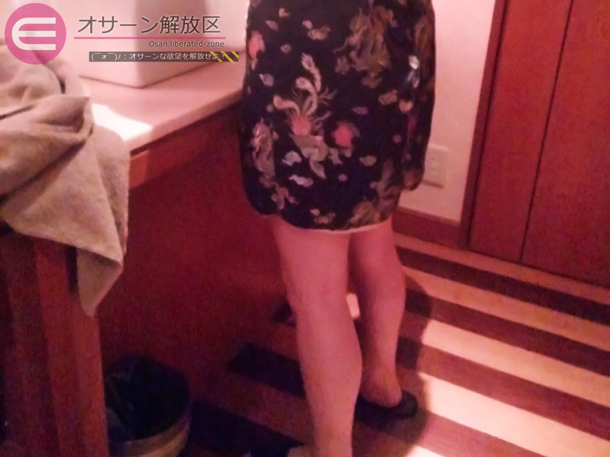 Y子さん:ミニのチャイナ服お着替え中(その1)